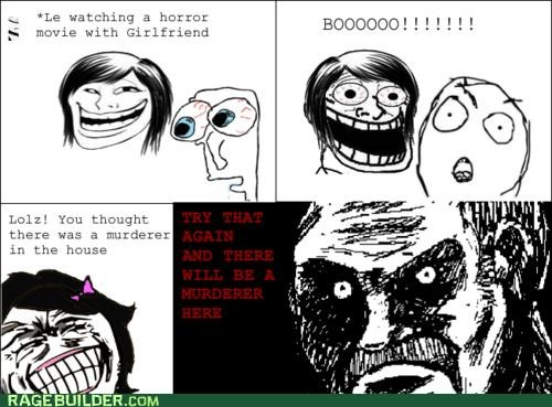horror,jumpy,murder,Rage Comics