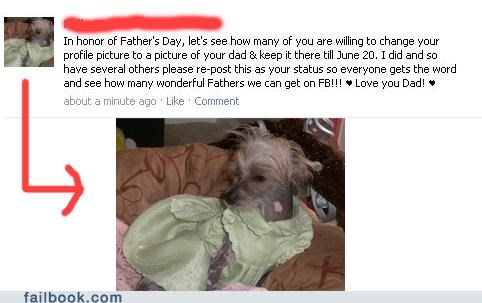 change your profile pic dogs fathers day Photo - 4878802688