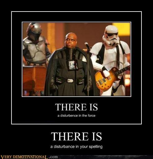 disturbance force hilarious spelling stormtrooper - 4879092736