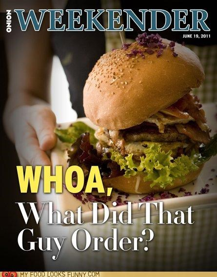 burger huge onion satire weekender WoW