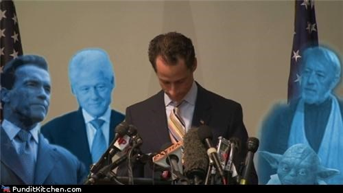 Anthony Weiner bill clinton Hall of Fame political pictures star wars