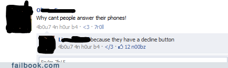 forever alone phones decline