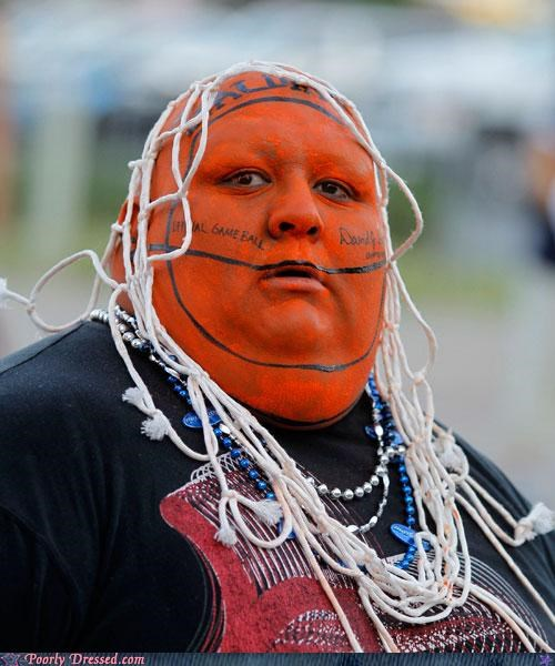 basketball body paint head hoop - 4880785152