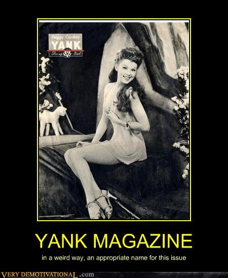 hilarious issue magazine weird yank