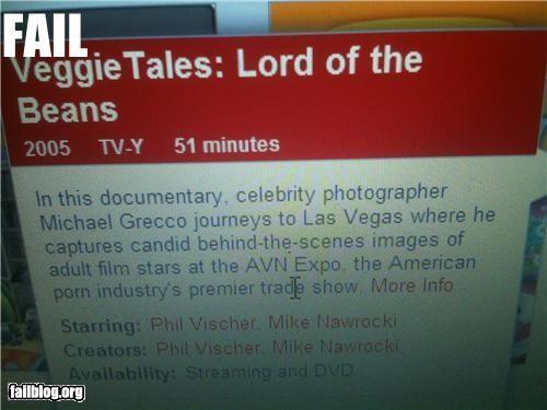 christian description failboat innuendo netflix television veggie tales - 4881487872