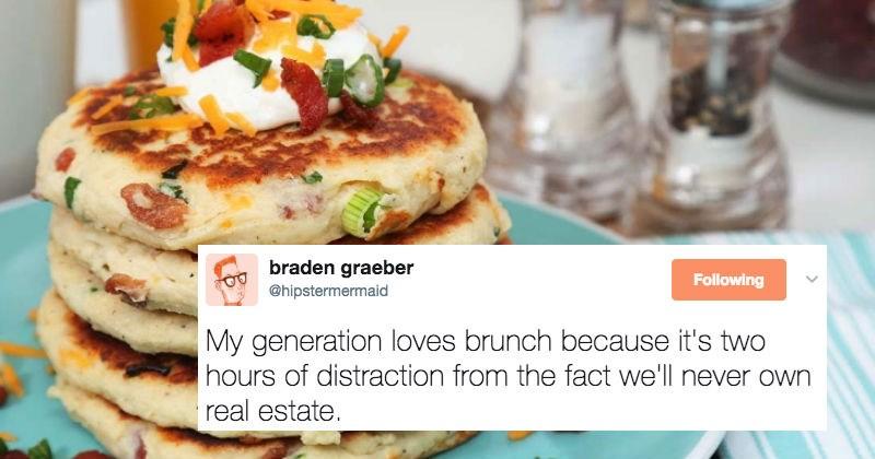 funny millennial tweets