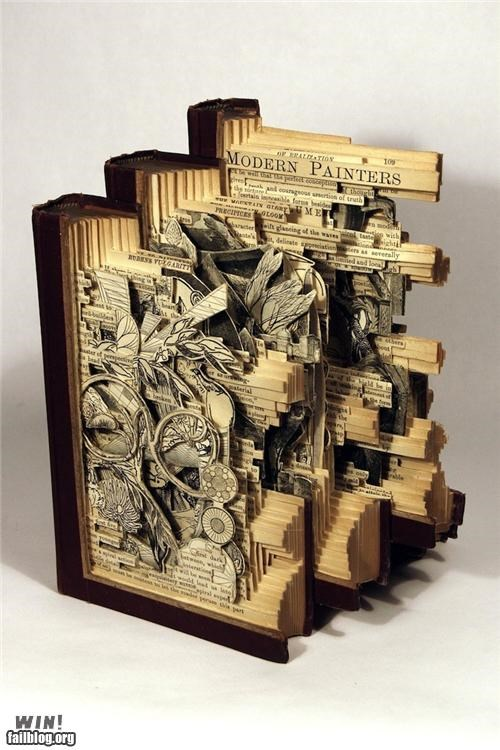 art books carved cool skills - 4882704128
