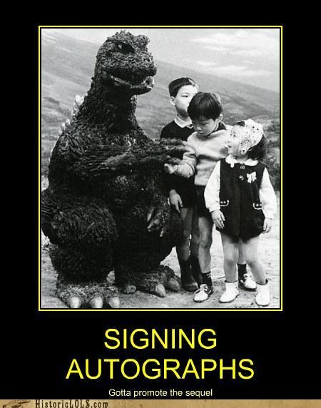demotivational funny godzilla kids Photo - 4882733056