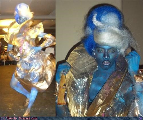 alien,body paint,glitter,shiva,space,vishnu