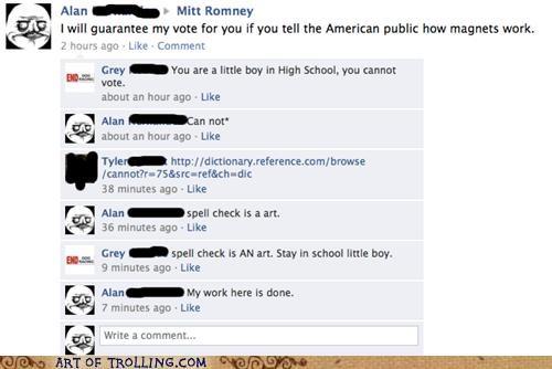 facebook magnets president Romney - 4883754496