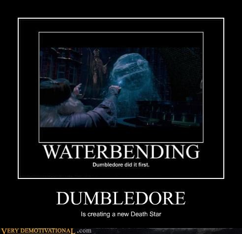 DUMBLEDORE Is creating a new Death Star