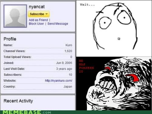 inglip Nyan Cat rage Rage Comics wtf years - 4884688128