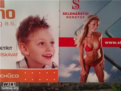 bikini innuendo juxtaposition little kids magazine models - 4885608192