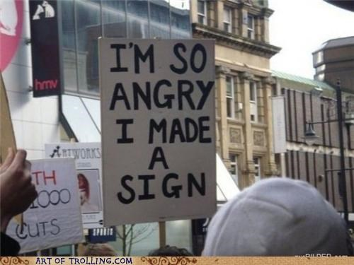 angry,IRL,Protest,sign