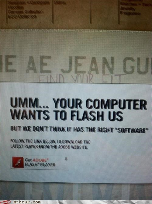 adobe,exposing,flash,public nudity