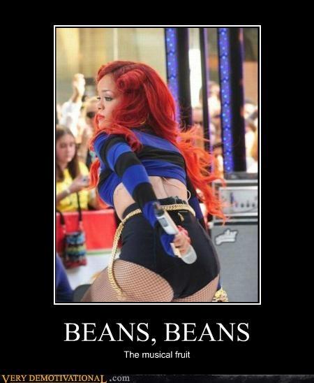 beans farts hilarious rhianna - 4886139136