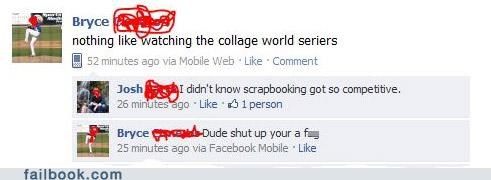baseball gay lol spelling World Series - 4886157056