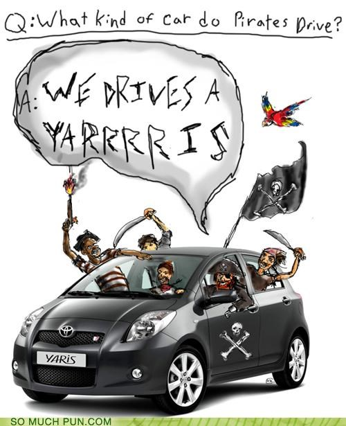 answer car Hall of Fame noise Pirate question sound yaris yarrrrr