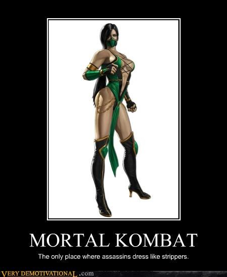 hilarious jade strippers Mortal Kombat video games - 4886459392