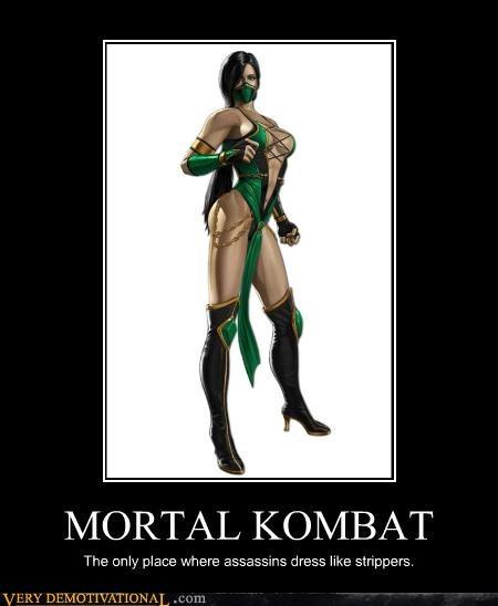 hilarious jade strippers Mortal Kombat video games - 4886459392