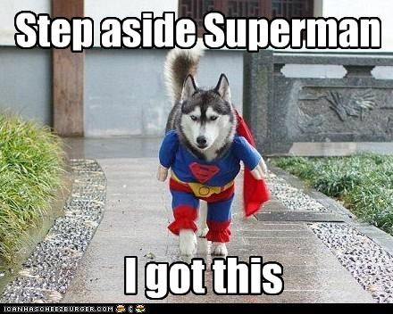 Step aside Superman I got this