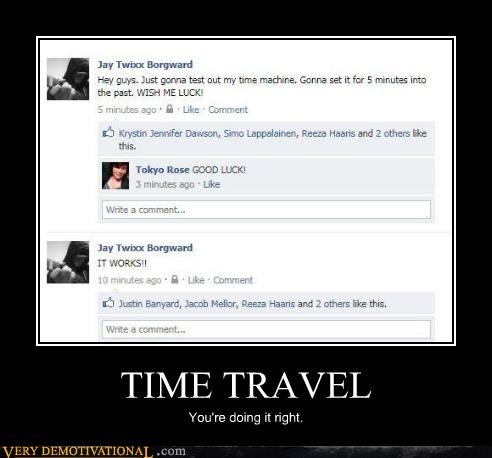 facebook hilarious right time travel - 4887785728