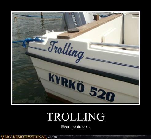 boat hilarious trolling water - 4887788032
