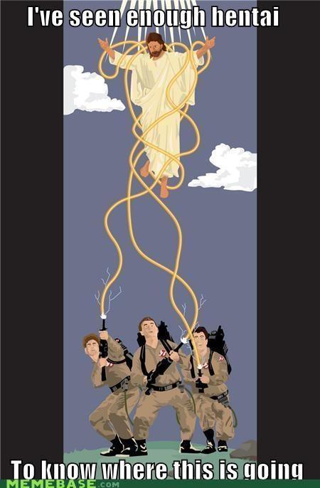 Ghostbusters ive-seen-enough-japanese-entertainment James Lentz jesus LOL Jesus tentacles where - 4887957504