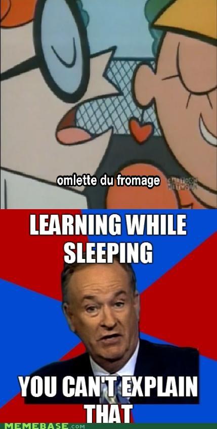 bill-oreilly cartoons Dexter du fromage omellete sleeping - 4888086528