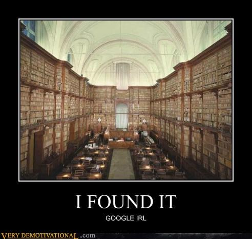 google hilarious internet IRL library - 4888322304