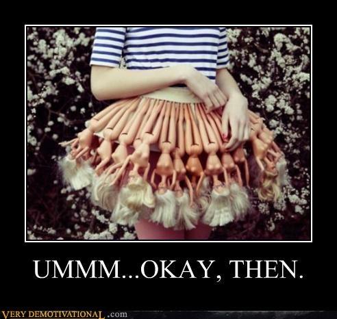 barbies creepy dress Terrifying wtf - 4888467968