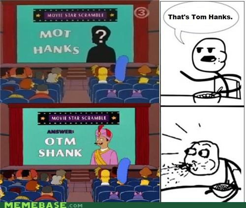 cereal guy movies obvious otm shank simpsons tom hanks - 4888618240