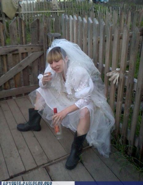 cigarette dress galoshes wedding - 4888965376