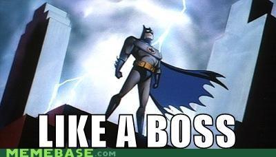 animated series batman Like a Boss Super-Lols - 4889593088