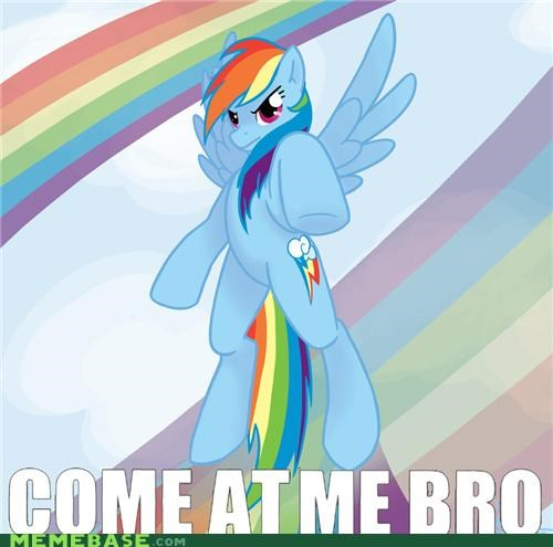 bro Bronies come at me rainbow - 4889718016
