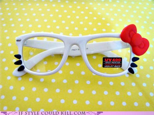 cool accessories,glasses,hello kitty