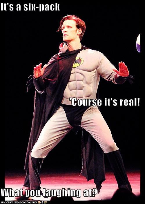 actor batman celeb funny Matt Smith - 4890160896
