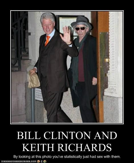 bill clinton Keith Richards political pictures - 4890624000