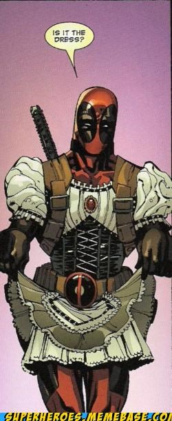 deadpool dress shame Straight off the Page wtf - 4890722816
