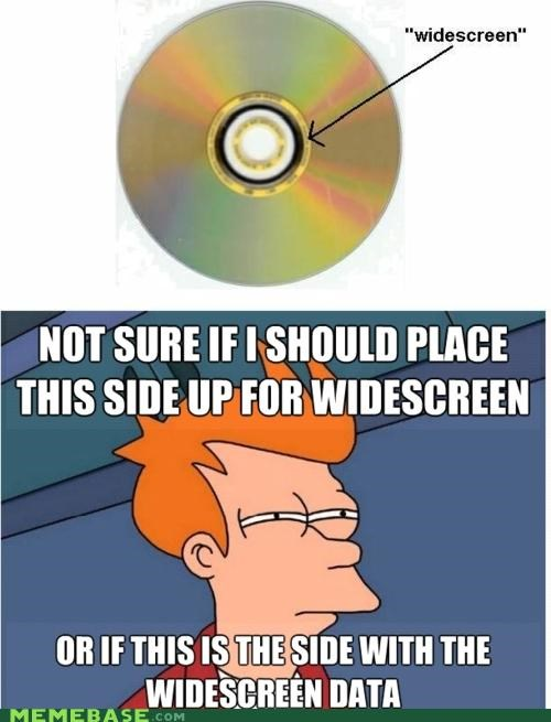 DVD fry movies sides widescreen