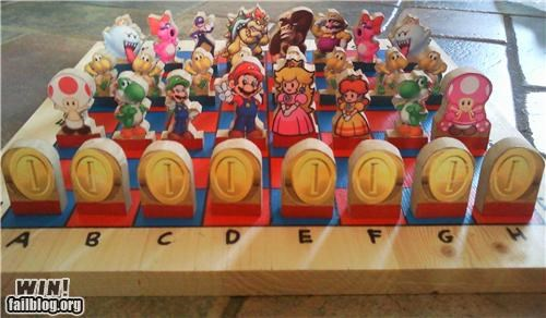 chess games nerdgasm super mario video games - 4891136768