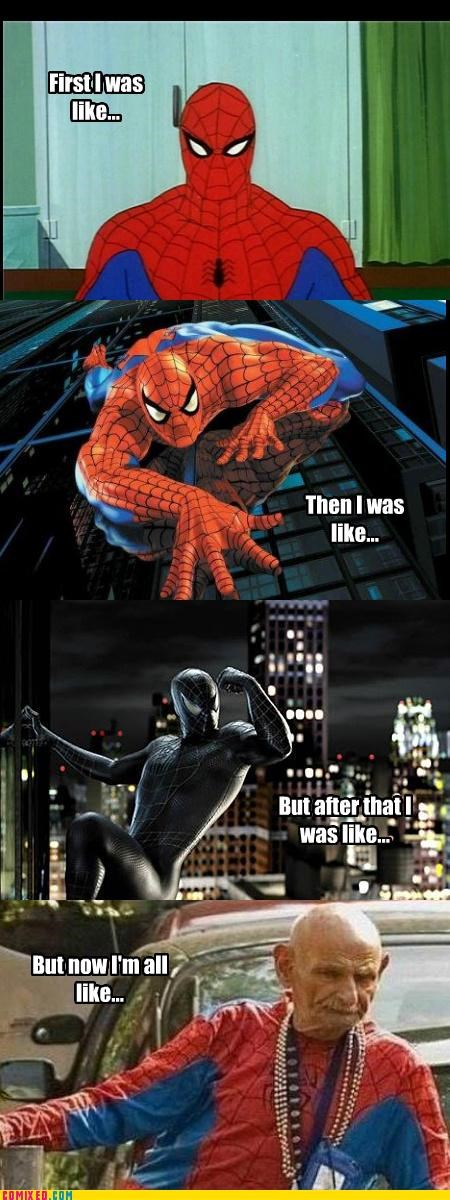 aging old guy Spider-Man Super-Lols wtf - 4891201792