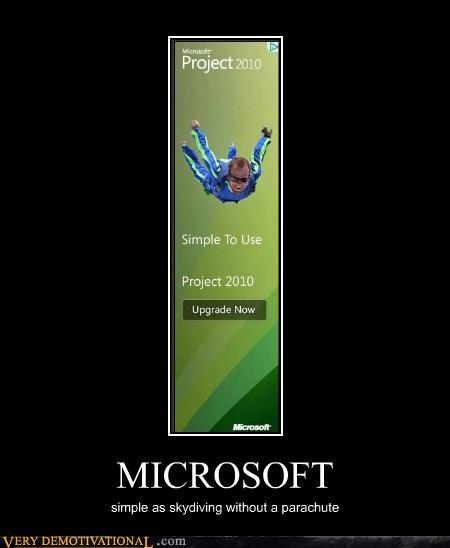 hilarious microsoft parachute wtf - 4891510528