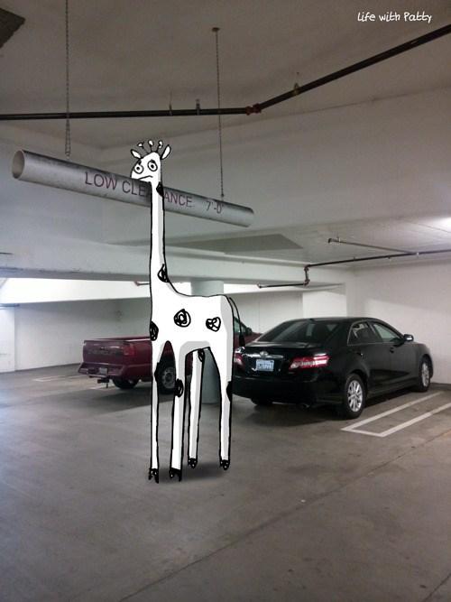 doodles funny giraffes adventures web comics - 4891909