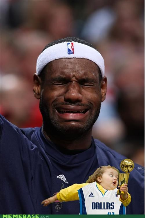 bubbles crying girl lebron Memes snatch sports trophy - 4891995648