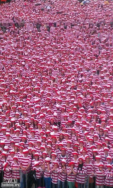 oh ireland record breaking wheres waldo - 4892000000