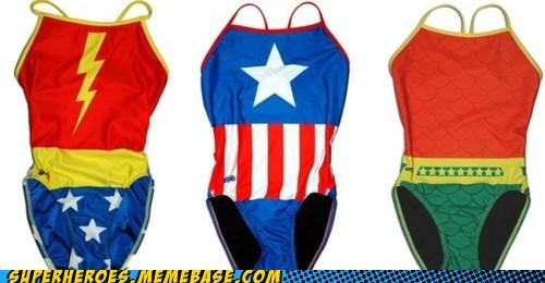 aquaman captain america Random Heroics swimsuits wonder woman - 4892025344