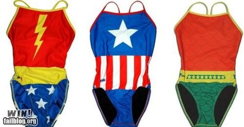 bathing suits,clothes,superheroes