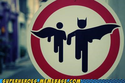 batman patrolled robin sign Superhero IRL - 4892054784