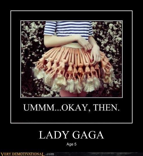barbies dress lady gaga Pure Awesome wtf - 4892198144